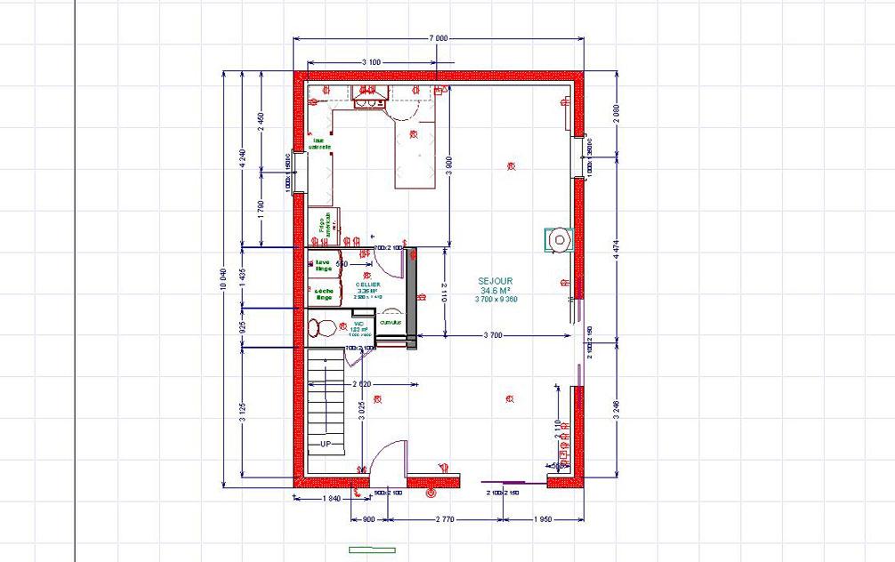Notre future maison levens 2 le choix de la maison for Plan de maison familiale