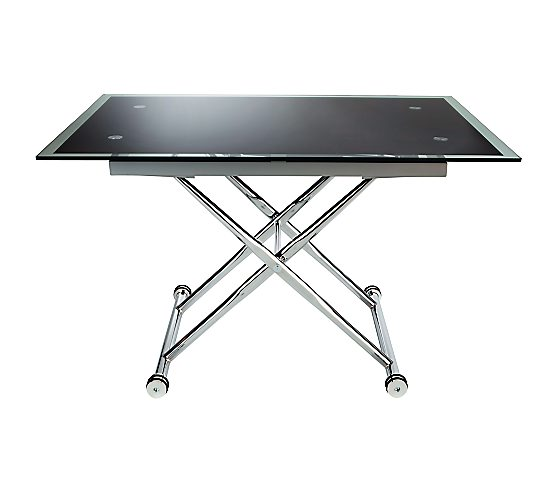 Table reglable en hauteur alinea - Table basse up and down ...