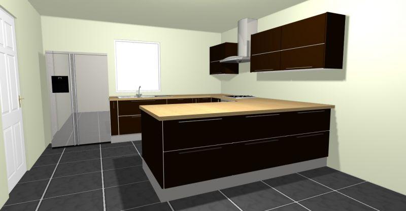 Notre future maison levens la nouvelle future cuisine for Cuisine 3d hygena