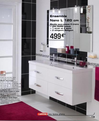 Design : Meuble Salle De Bain Blanc Brico Depot 19 Bordeaux ... Notre  Future Maison à Levensu2026 » 5 Vue 3d Du Futur Aménagement