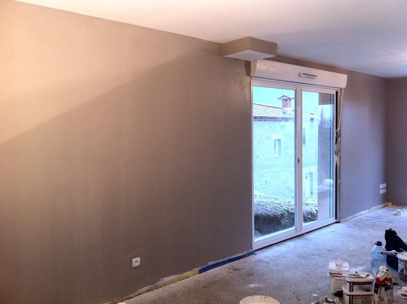 Notre future maison levens les peintres sont l oeuvre for Peinture acrylique tollens